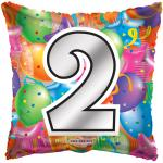#2 Mylar Balloon ( 6 pack)