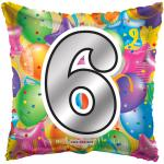 #6 Mylar Balloon ( 6 pack)