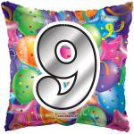 #9 Mylar Balloon ( 6 pack)