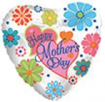 Mother's Day Mylar Balloon (1/2 dozen)