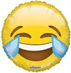 Emoji Laugh Mylars (6 pack)