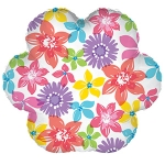 "9"" Floral/Mother's Day Mylar Balloon (6 pack)"