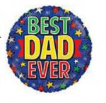Best Dad Mylar Balloons (6 pack)