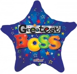 Boss' Day Mylar Balloon 18""