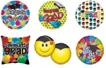 "*Graduation 18"" Mylar Balloon 240 piece deal"