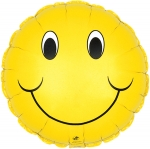 "Jumbo 31"" Smiley Mylar Balloons (5 pack)"