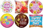 *120 Assorted Mother's Day Mylar Balloons