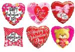**120 Assorted Valentine's Day Mylars