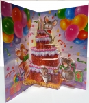 Birthday Pop Up Cards (6 pack)
