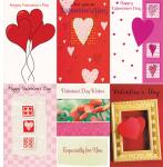 120 General Wrapped Valentine Card Assorted