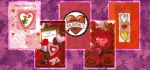144 Assorted Relatives Wrapped Valentine Cards